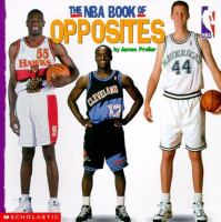 The NBA book of opposites