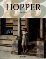 Edward Hopper 1892-1967 : vision of reality