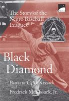 Black diamond : the story of the Negro baseball leagues