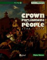 Crown, parliament and people 1500-1750