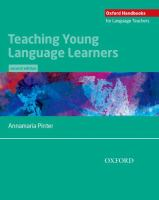 Teaching young language learners